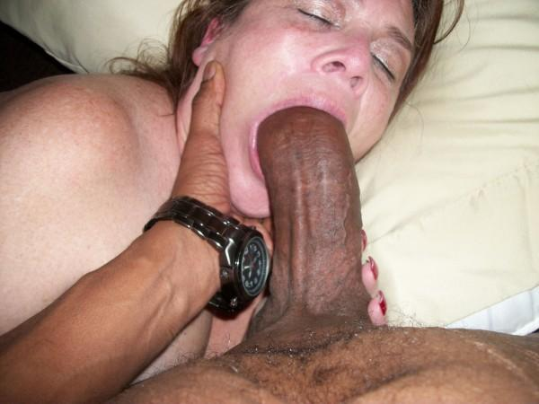 Black on white gang bang creampie