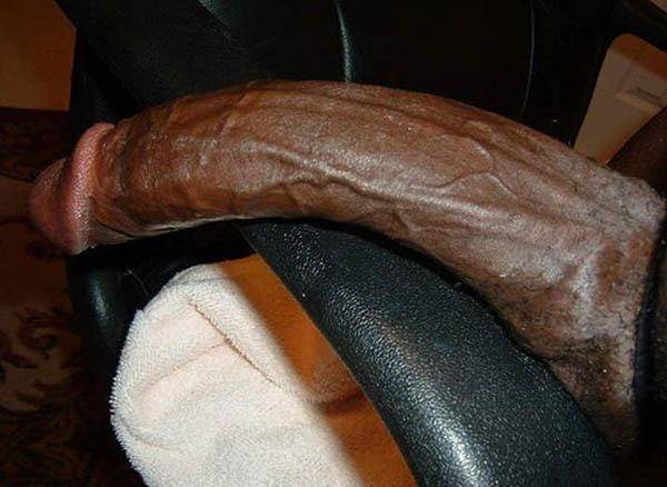 Extremely big black dick