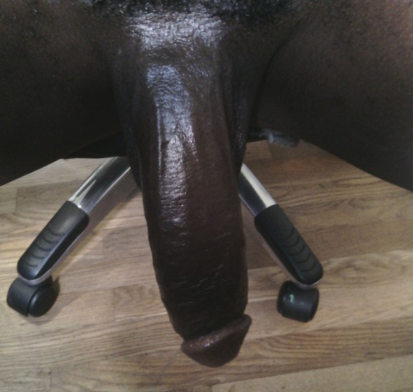 Big black cock looking 01